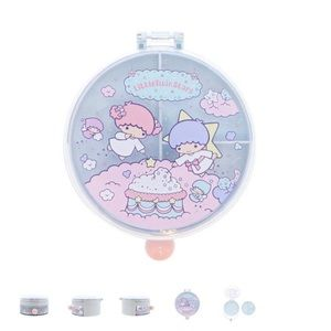 Sanrio Little Twin Stars Jewelry Case: Round